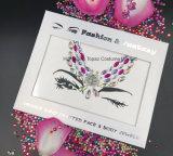 Sticker van de Gem van het Lichaam van het Oog van de Schoonheid van de Sticker van de Tatoegering van het Lichaam van de Stickers van Kerstmis de Tijdelijke Nieuwe (S016)