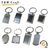 Sublimazione stampata promozionale Keychain (YM008) del metallo rotondo