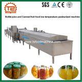 びんジュースおよび缶詰のフルーツの食糧低温の低温殺菌された機械
