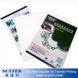 Wasser-Plättchen-Abziehbild-des Papiers des Tintenstrahl-A4 transparente /Light-Farbe