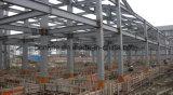 Vertientes de acero del almacenaje del almacén prefabricado