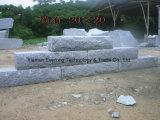 Blocchetti grigi naturali della pietra della parete del granito per la parete esterna
