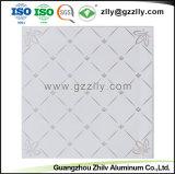La vente directe d'usine de revêtement du rouleau de dalle de plafond d'impression Panneau en aluminium