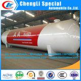 Hoge Tank 100cbm van LPG van het Staal Strenth BulkTank van de Opslag van het Gas van LPG van het Drukvat van de Tank van LPG van de Goede Kwaliteit van het Drukvat van LPG van de Tanks van de Opslag van LPG 100m3 De Bulk Chinese