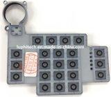 Настраиваемые силиконовые клавиатуры с PU покрытием