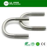 Boulons en U des dispositifs de fixation DIN3570 de l'acier inoxydable SS304 SS316