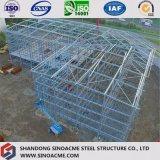 Edificio comercial prefabricado del marco de acero para la tienda al por menor