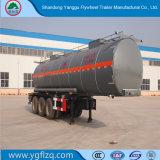 Gute Schärfeen-/Salzsäure-/muriatische Säure-Kohlenstoffstahl-Tanker-halb Schlussteil des Fabrik-Preis-25000liter