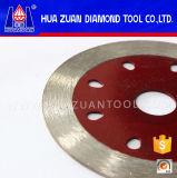 Mosaico de diamantes de la llanta continua cuchilla de corte para la amoladora angular