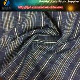 Lavado de tejido, teñido de hilados de terciopelo terciopelo tejido de poliéster verificar