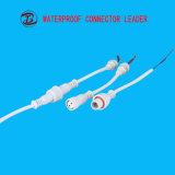 Connettore di cavo esterno maschio di Pin LED della femmina 2-12 di ampie varietà