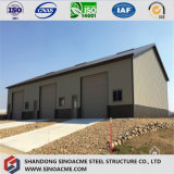 Construction structurale en acier d'usine de lumière modulaire africaine de coût bas