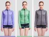 عمليّة بيع حارّ جار ملابس رياضيّة طبقة لياقة سحاب نساء نظام يوغا لباس