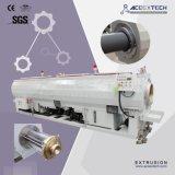Pipe en plastique de Ligne-PVC d'extrusion de PVC faisant la machine
