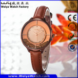 Heiße verkaufenuhr-Legierungs-Uhr für Frauen-Luxuxuhr (Wy-108E)