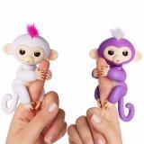 Jouets 2018 interactifs de bébé de doigt de singe de bébé de ventes d'Amazone de singe chaud de doigt