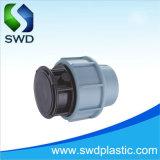 Todo tipo PP los racores de compresión para tubo de agua de riego
