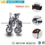 CE 36V el precio bajo de 12 pulgadas plegable la bicicleta eléctrica