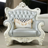 最もよい品質のCiffのオフィス用家具高貴な様式の革ソファー(169-3)