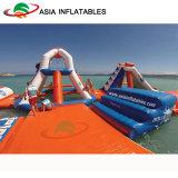 Курорт парка Aqua раздувного пляжа миниый, раздувной парк Precios Aqua воды