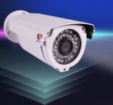 cámaras de seguridad al aire libre del IP de Hikvision del punto negro de la prueba del agua del CCTV 1megapixel