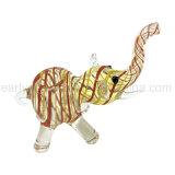 Elefant Singel Glashandrohr für das Rauchen der Universalleute (ES-HP-108)