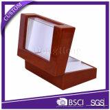 Cassa per orologi di legno della finestra di visualizzazione/argano laccato della vigilanza