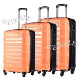 2017 Gran Capacidad Material nuevo PP Trolley maletas de viaje