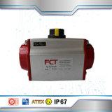 공 벨브를 위한 두 배 임시 압축 공기를 넣은 액추에이터