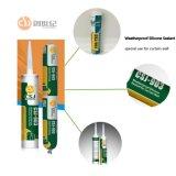 Certificat joint silicone adherent résistant aux intempéries pour largement utiliser