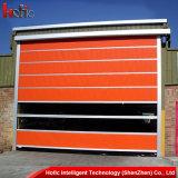 Porte industrielle de porte rapide à grande vitesse de roulement de tissu de PVC d'importation