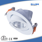 La alta calidad 3000K 4000K regulable de 10W LED Downlight Hotel