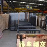 Marbre Polished noir de la Chine, prix de marbre noir de brame