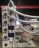 Flexo Kennsatz-Drucken-Maschine mit dem Stempelschneiden und dem Aufschlitzen