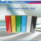 Motif de la qualité coréen Trump Glitter troupeau en vinyle de transfert de chaleur