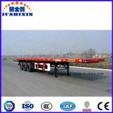 Usado para recipiente de transporte 3 Eixos Estrado semi reboque