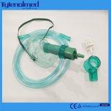의학 사용을%s 배관을%s 가진 조정가능한 산소 마스크