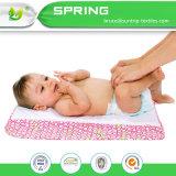 아기 저자극성 방수 변화 매트 유아 소변 어린이 침대 침대용 깔개