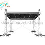 La armadura de la etapa de aluminio al escenario de concierto de la armadura de techo