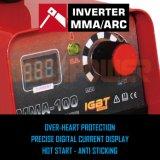 セリウム公認MMA 100A DCインバーター溶接工のアーク溶接機械