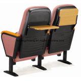 По конкурентоспособной Hotsale складной металлический театр стул Auditorium стул дешевые цены обивка небольшого размера церкви стул AW1538