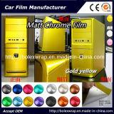 Venta caliente alquiler de coches de hielo de cromo mate adhesivo de vinilo de envoltura de cromo 152cm*50cm/1m/28M.