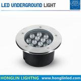 18W에 의하여 매장되는 빛 AC 24V LED 지면 빛 RGB LED 지하 빛