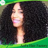 Unverarbeitete Großhandelsjungfrau Remy brasilianisches Haar-Menschenhaar 100%