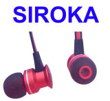 Perfect Sound Stereo Earphone com microfone e controle de volume