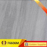 完全なボディ灰色の艶をかけられた無作法な磁器のタイル(F6609M)