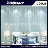 Papel pintado no tejido al por mayor de la tela para la decoración casera 0.53m*10m/Roll