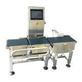 Automático máquina automática embalaje de la pesa de chequeo del pesador de la verificación del transportador de correa del uso en línea