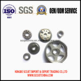 Fournisseurs personnalisés par pièces de poulie de vitesse/courroie de poudre métallique