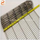 、洗浄のためのステンレス鋼のコンベヤーの網、高温処理乾燥する